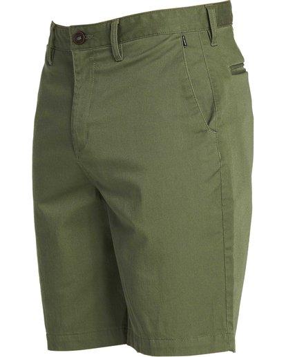 1 Carter Stretch Shorts Green M231NBCS Billabong