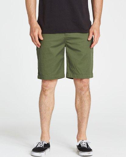 3 Carter Stretch Shorts Green M231NBCS Billabong