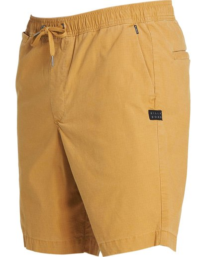 1 Larry Layback Shorts Yellow M235NBLA Billabong