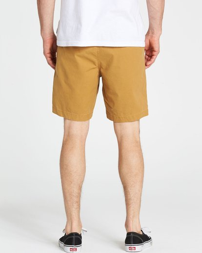 4 Larry Layback Shorts Yellow M235NBLA Billabong