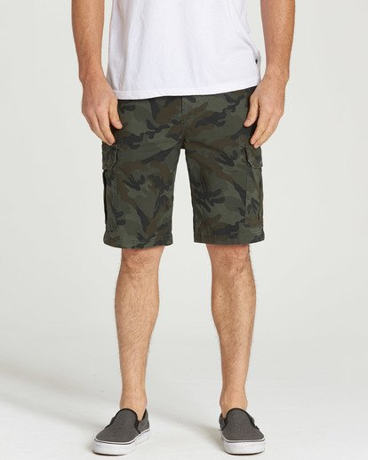4 Scheme Shorts Camo M236NBSC Billabong