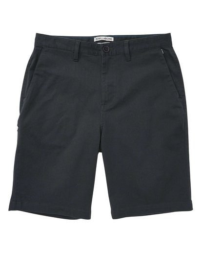 0 Carter Stretch Shorts Black M236TBCS Billabong