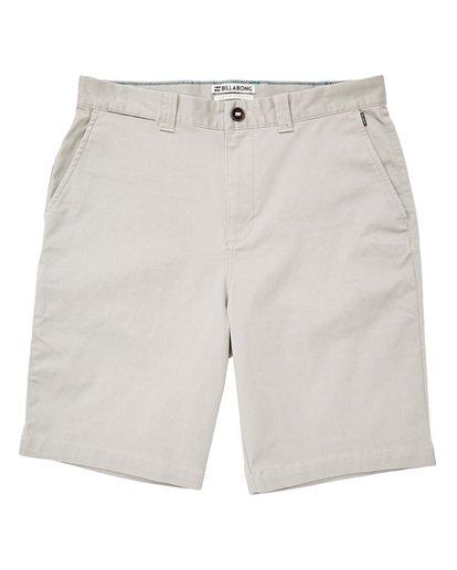 0 Carter Stretch Shorts Grey M236TBCS Billabong