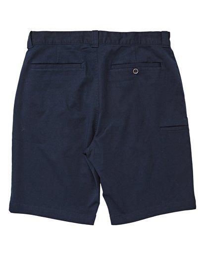1 Carter Stretch Shorts Blue M236TBCS Billabong