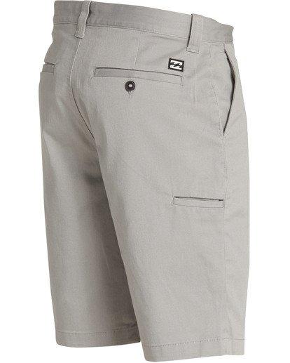 3 Carter Stretch Shorts Grey M236TBCS Billabong