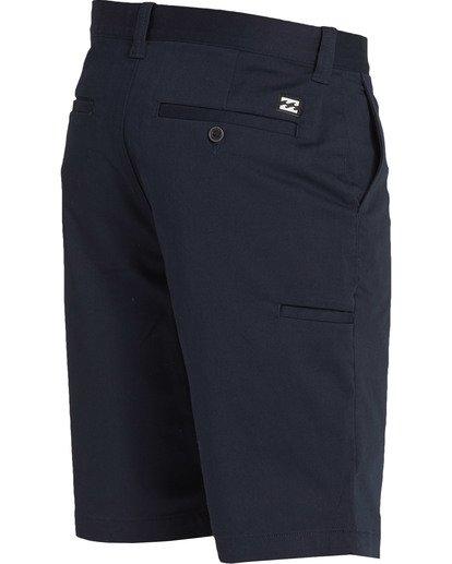 3 Carter Stretch Shorts Blue M236TBCS Billabong