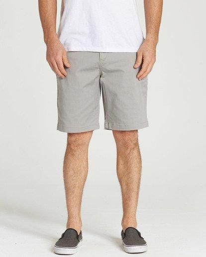 4 Carter Stretch Shorts Grey M236TBCS Billabong