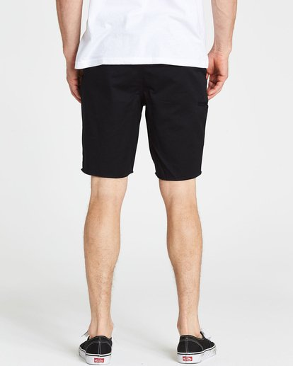 4 Carter Cutoff Short Black M238NBCC Billabong