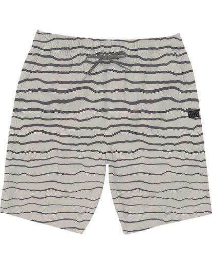 0 Larry Layback Sunday Shorts Grey M239NBLS Billabong