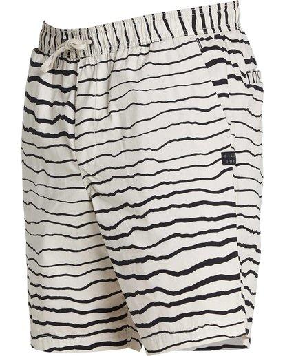 1 Larry Layback Sunday Shorts Grey M239NBLS Billabong