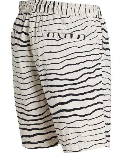 2 Larry Layback Sunday Shorts Grey M239NBLS Billabong