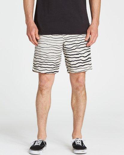 3 Larry Layback Sunday Shorts Grey M239NBLS Billabong