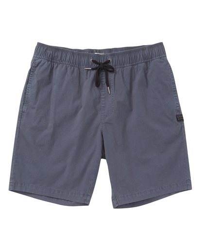 0 Larry Layback Shorts Grey M239TBLL Billabong