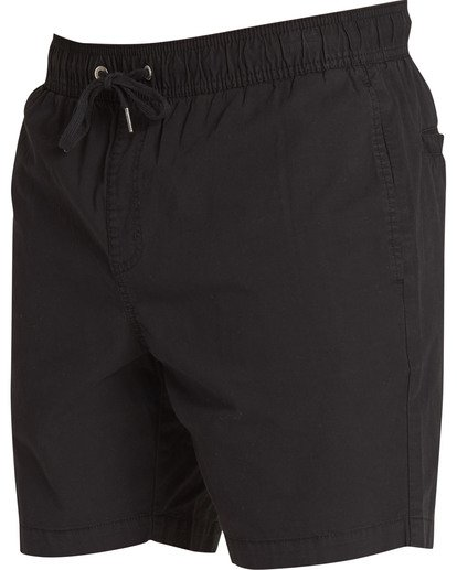 2 Larry Layback Shorts Black M239TBLL Billabong