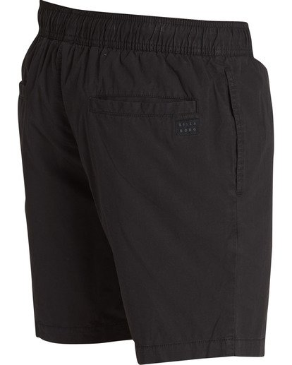 3 Larry Layback Shorts Black M239TBLL Billabong