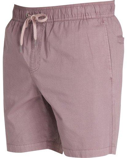 2 Larry Layback Shorts Purple M239TBLL Billabong