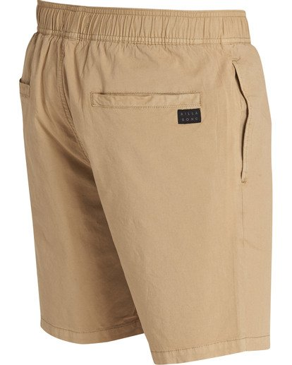 3 Larry Layback Shorts Green M239TBLL Billabong