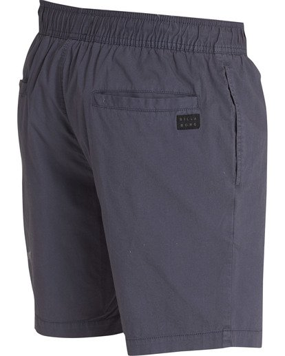 3 Larry Layback Shorts Grey M239TBLL Billabong