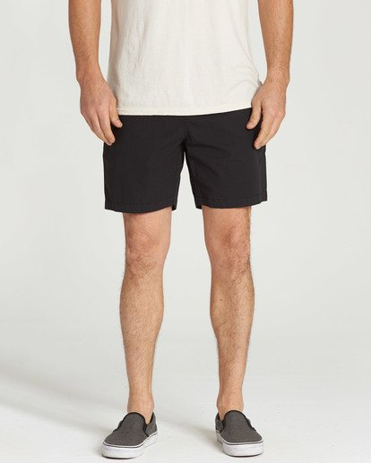 4 Larry Layback Shorts Black M239TBLL Billabong
