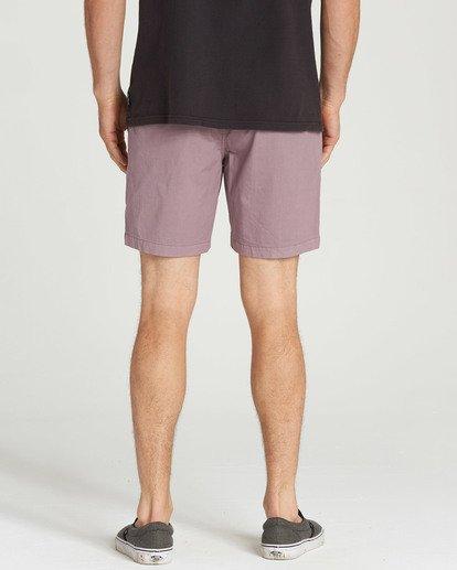 5 Larry Layback Shorts Purple M239TBLL Billabong