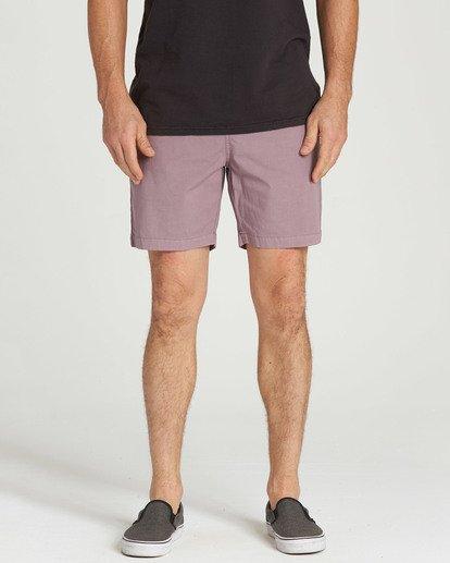 4 Larry Layback Shorts Purple M239TBLL Billabong