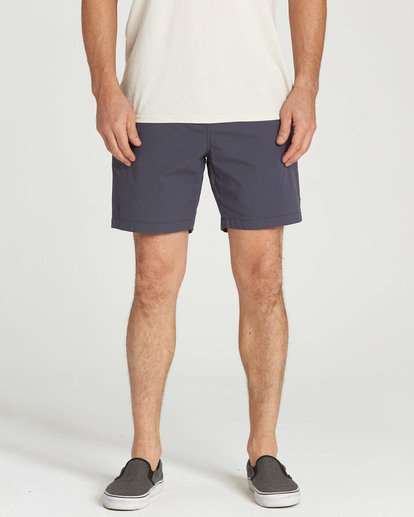 4 Larry Layback Shorts Grey M239TBLL Billabong