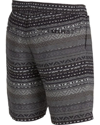 2 Larry Layback Jacquard Shorts Black M241QBLJ Billabong