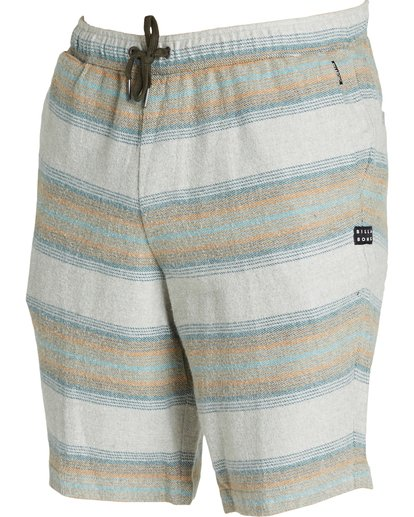 2 Larry Layback Baja Shorts Grey M243QBLB Billabong