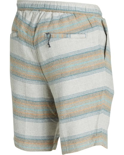 3 Larry Layback Baja Shorts Grey M243QBLB Billabong