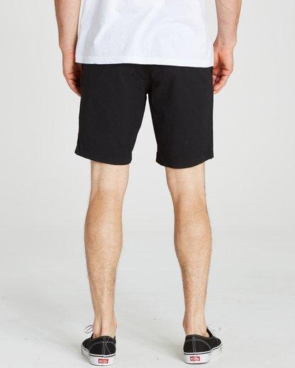 5 Larry Stretch Elastic Shorts Black M244QBLS Billabong