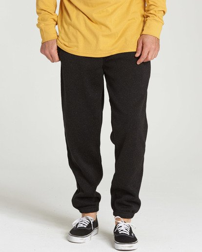 1 Boundary Pant Fleece Pant Black M305SBBO Billabong