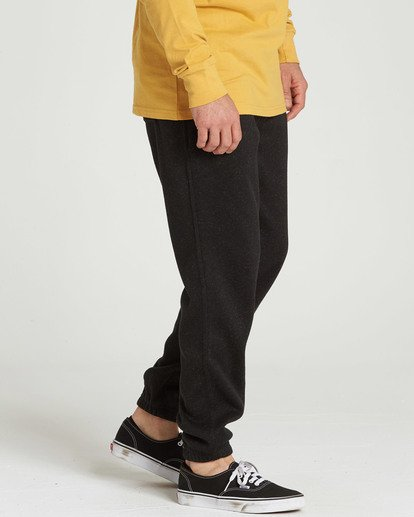 3 Boundary Pant Fleece Pant Black M305SBBO Billabong