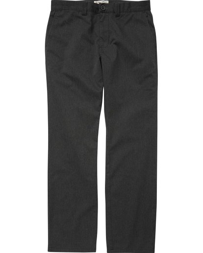 4 Carter Stretch Chino Pants Black M314QBCS Billabong