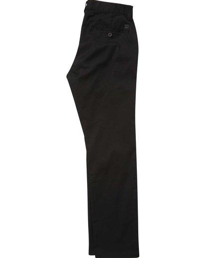 5 Carter Stretch Chino Pants Black M314QBCS Billabong