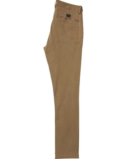1 New Order Chino Pant Brown M315QBNO Billabong