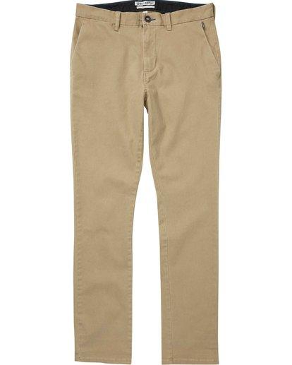4 New Order Chino Pant Grey M315QBNO Billabong