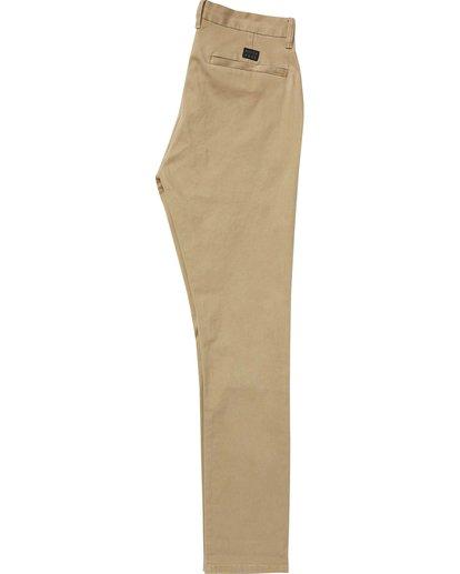 5 New Order Chino Pant Grey M315QBNO Billabong