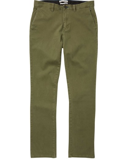4 New Order Chino Pant Camo M315QBNO Billabong