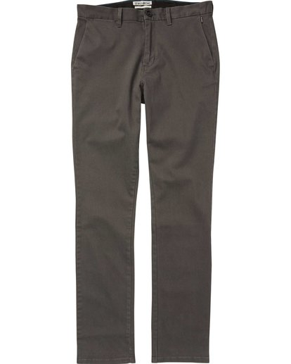 4 New Order Chino Pant Black M315QBNO Billabong