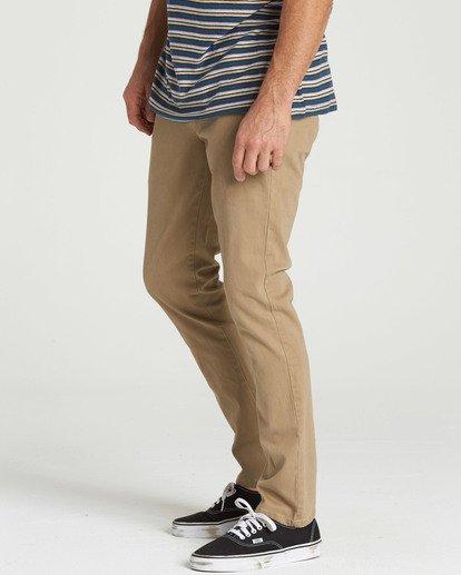 1 New Order Chino Pant Grey M315QBNO Billabong