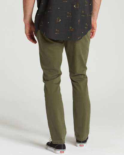 3 New Order Chino Pant Camo M315QBNO Billabong