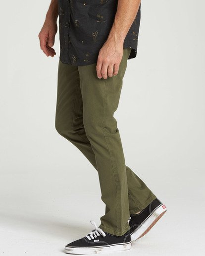 1 New Order Chino Pant Camo M315QBNO Billabong