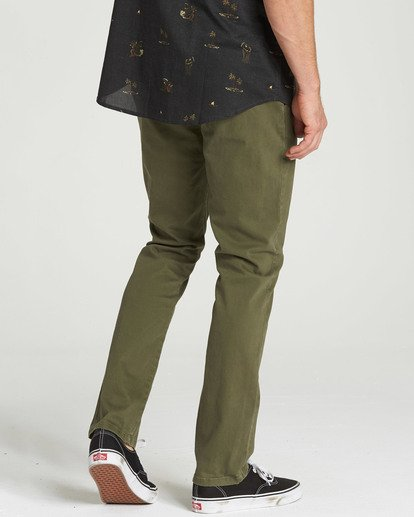 2 New Order Chino Pant Camo M315QBNO Billabong