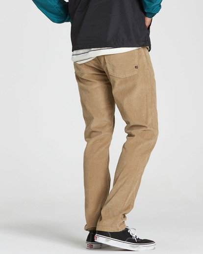 2 Outsider Cord Pant Grey M316QBOU Billabong
