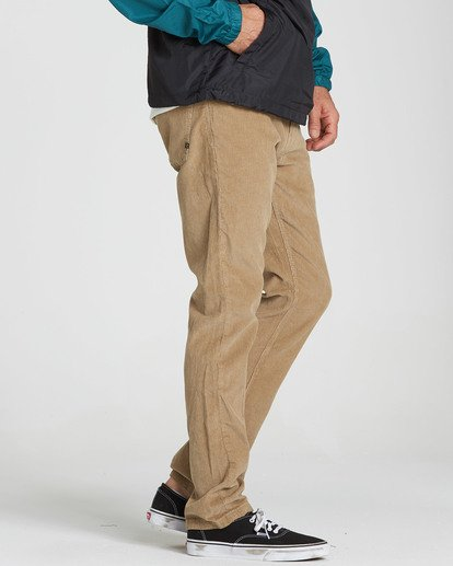 1 Outsider Cord Pant Grey M316QBOU Billabong