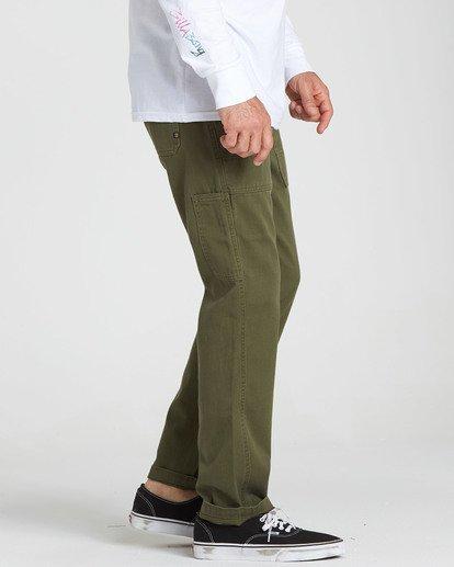 1 Collins Pant Green M317QBCO Billabong