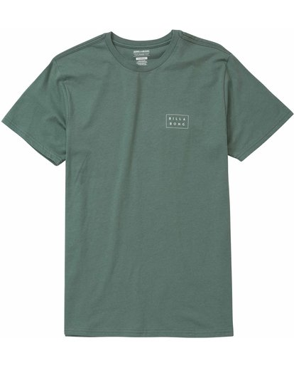0 Die Cut Tee Green M401JDIE Billabong