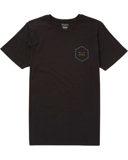 0 Access Border Tee Black M401PBAC Billabong