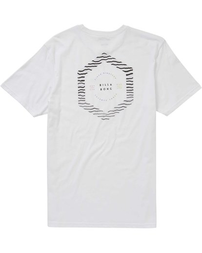 1 Access Border Tee White M401PBAC Billabong