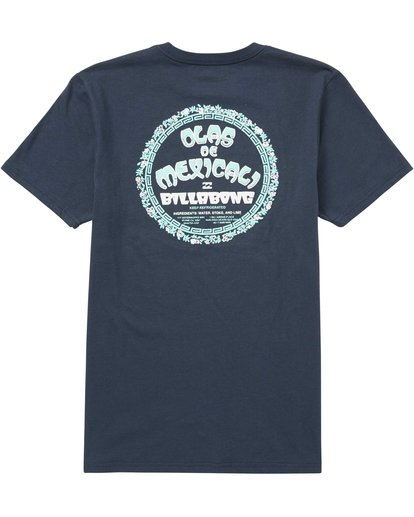 1 Mexicali Tee Blue M401QBMX Billabong